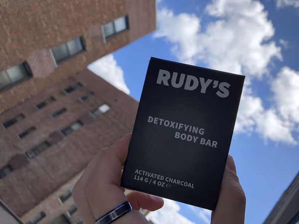 Rudy's Detoxifying Body Bar