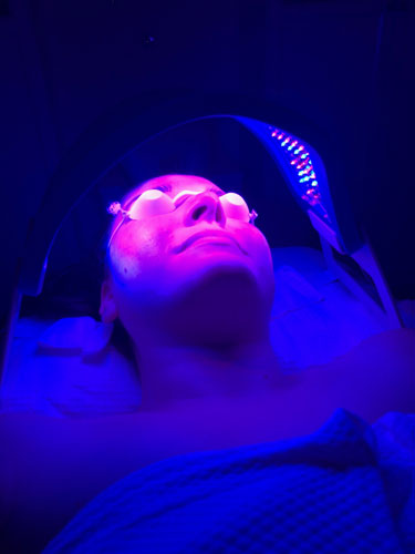 microcurrent facial led