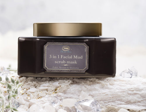 3 in 1 Dead Sea Facial Mud Mask