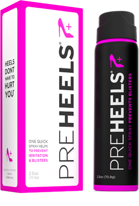 PreHeels Spray