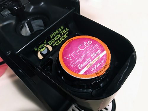VitaCup Beauty Blend Coffee Pod
