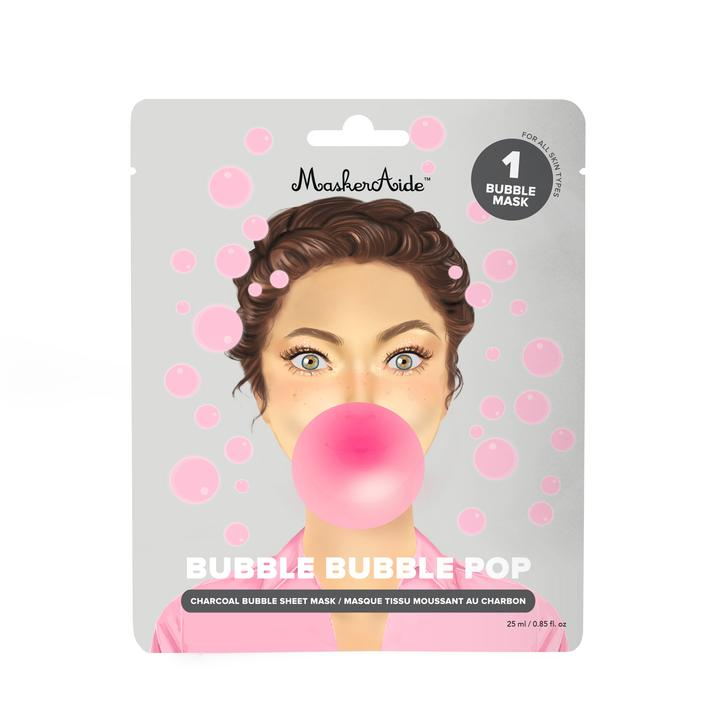 Pore Cleansing Charcoal Bubble Mask