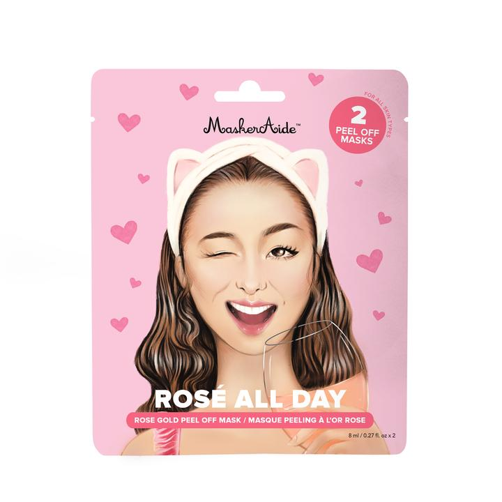 Pore Refining Rose Gold Peel Off Mask