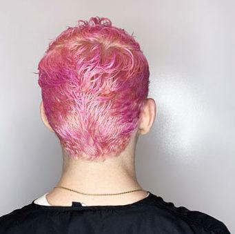 rogue salon pink hair