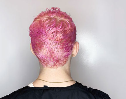 rogue salon pink hair