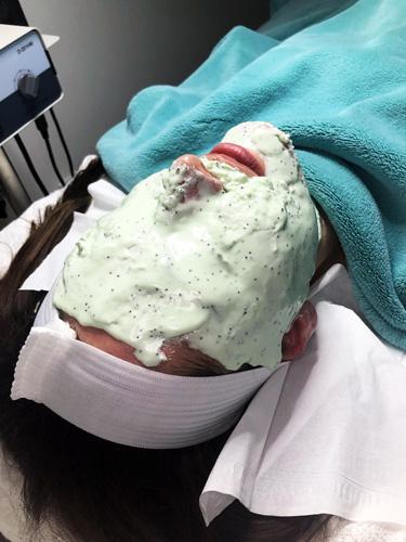 spark laser face mask